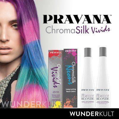 Chroma Silk Hair Color: Pravana a Class of it's Own